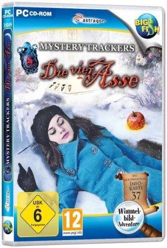 Preisvergleich Produktbild Mystery Trackers: Die vier Asse