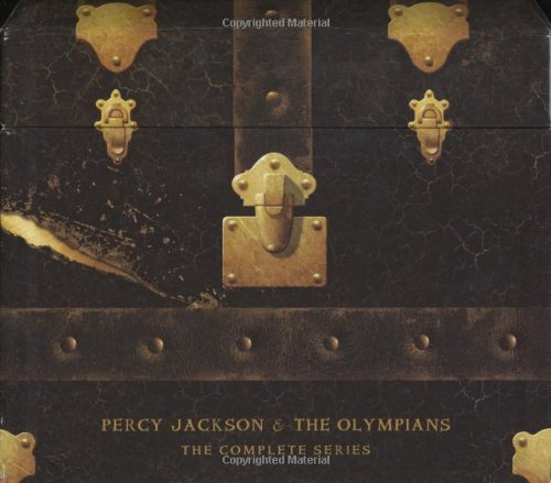 Book cover for Percy Jackson and the Olympians