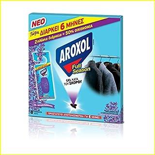 Natürliche Anti-Moth Gel Tabletten / Beutel Angenehmer Lavendelduft für Kleidung Stoff - Bis zu 6 Monate - 8 Gele Pack