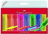 Faber-Castell 154662 - Textmarker TEXTLINER 1546, 1-5 mm, 8er Etui