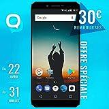Konrow Sky - Smartphone Portable débloqué 4G (Ecran: 5,5 Pouces - 16 Go - Double Micro-SIM - Android) Bleu