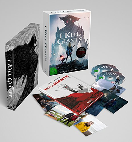 I Kill Giants (DIN A4 Sonderedition inkl. DVD, Blu-ray, Postkarten und Hardcover-Graphic Novel mit Variant Cover im Schuber) (Limitierte Edition) (exklusiv bei Amazon.de)