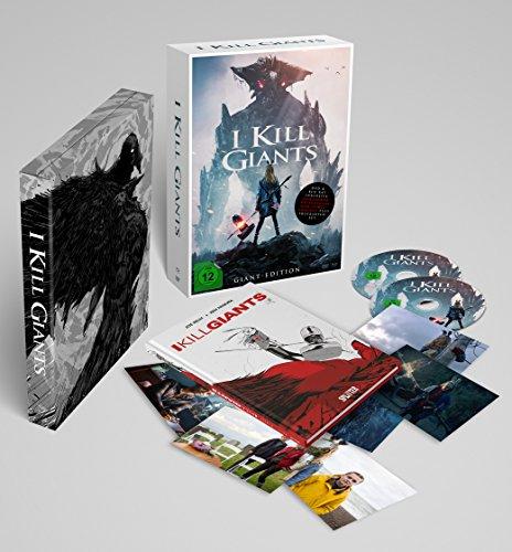 I Kill Giants (DIN A4 Sonderedition inkl. DVD, Blu-ray, Postkarten und Hardcover-Graphic Novel mit Variant Cover im Schuber) (Limitierte Edition)...