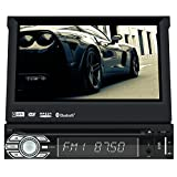 eincar 16 GB 2 GB android6.0 Single DIN Autoradio Touchscreen Head Unit mit verstellbarem Winkel für die DAB Radio Bluetooth SAT NAV GPS Mirror Link WiFi 3 G/4G am/fm radio USB SWC OBD2 hinten Kamera