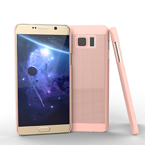 Samsung Galaxy S6 Edge Plus Custodia, JIAHCN Raffreddamento mesh traspirante Case disegno per Apple Samsung Galaxy S6 Edge Plus cover -