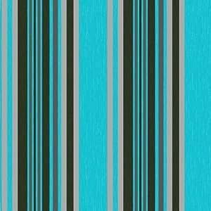 New luxury marrakech stripe fabric textured vinyl metallic for Teal kitchen wallpaper