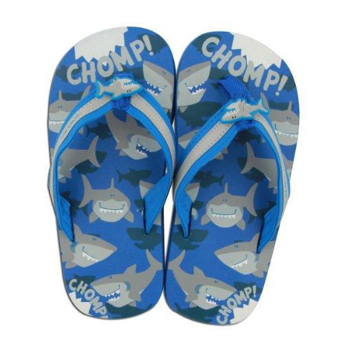 Preisvergleich Produktbild Stephen Joseph Badeschuhe für Kinder im Hai-Design Gr. M