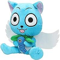 Fairy Tail AMZ Fan Collection Plush Figura de Acción Merchandise Toy Gift Set Manga Anime (Peluche mediana B)