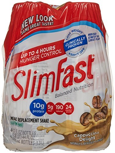 slimfast-ready-to-drink-shakes-cappuccino-delight-10-oz-4-ct-by-slim-fast
