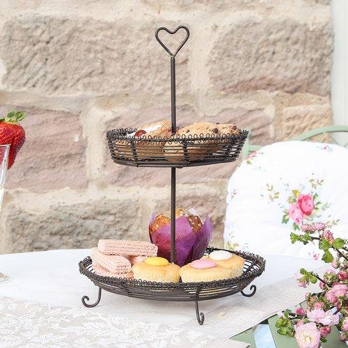 ebäck 2Servieren Stöckig (Cupcakes Steht)