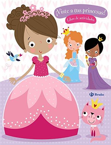 ¡Viste a tus princesas! (Castellano - A Partir De 6 Años - Manipulativos (Libros Para Tocar Y Jugar), Pop-Ups - Otros Libros) -