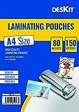 Best Laminating Pouches - Deskit Laminating Pouches -80 Sheets - A4 Size Review