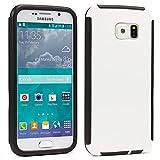 Urcover Custodia Full Body Compatibile con Samsung Galaxy S4 Mini, Touch Cover Integrale Fronte Retro Transparente, Back Case Rigida Bumper Antishock, 360 Grad Armor in Bianco