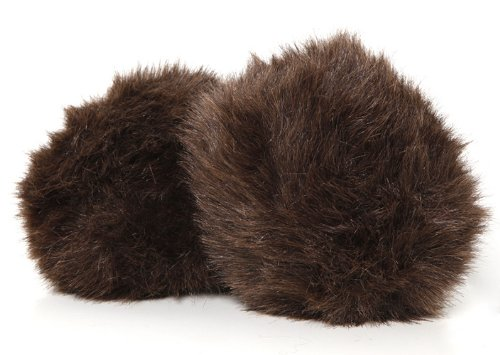 "Star Trek 5"" MEDIUM BROWN DUAL SOUND ELECTRONIC TRIBBLE REPLICA PLUSH - Touch Activated"