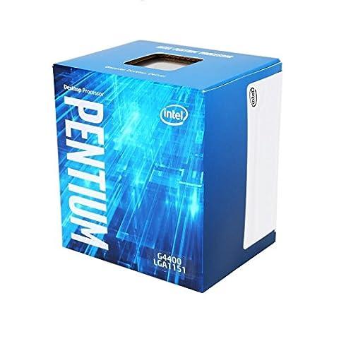 Intel Skylake Processeur Pentium G4400 3.3 GHz 3Mo Cache Socket 1151 Boîte (LGA1151G4400)