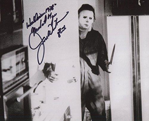 Jim Winburn Signed John Carpenter Halloween 1978 Michael Myers 10x8 COA PJ - Myers 1978 Halloween Michael