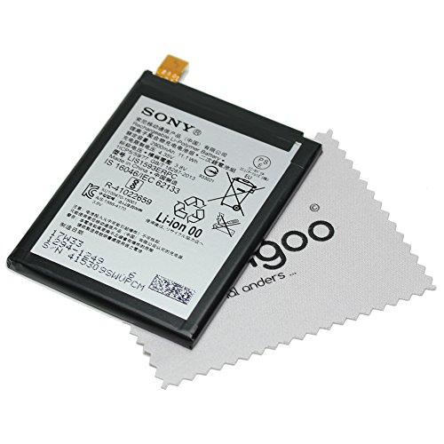 Batería para Original Sony para Sony Xperia Z5, Xperia Z5 Dual 1294-1249 LIS1593ERPC con mungoo pantalla paño de limpieza