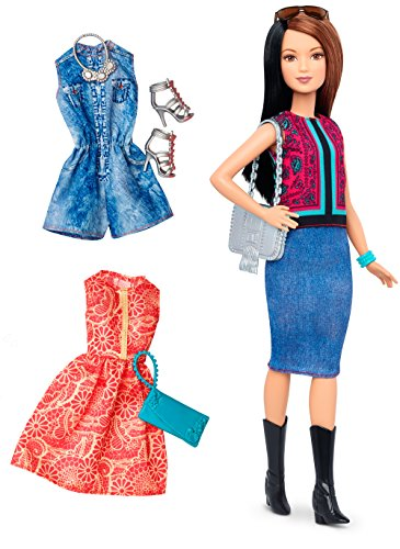 Barbie Kit Fashionistas Et Tenues, DTF04