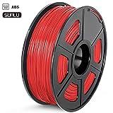 Sunlu - ABS, filo da1,75 mm, rosso, 1