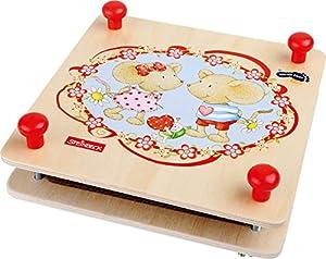 Small Foot Design 1259-Lillebi Flor Prensa, Otras Juguetes