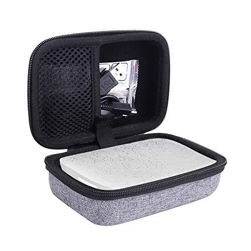 Aenllosi Hart Taschen Hülle für HP 2-in-1 Sprocket Mobiler Fotodrucker und Sofortbildkamera für Zink 5 x 7.6 cm Fotopapier