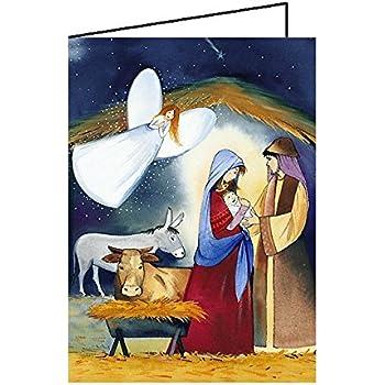 weihnachtskarten religi se motive din a6 10er pack. Black Bedroom Furniture Sets. Home Design Ideas