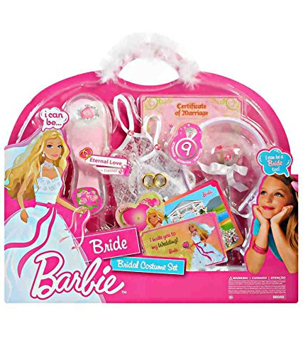 Barbie I Can Be Bride / Braut - Bridal Costume Set / Braut Kostüm Set