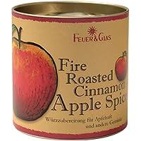 Köstliche Gewürzmischung für heißen Apfelsaft, Fire Roasted Cinnamon Apple Spices duftet und schmeckt nach einem herbstlichen Kaminfeuer, von Feuer & Glas (180 g)