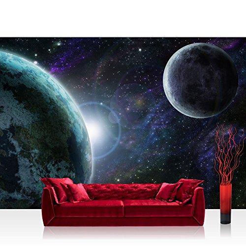 Bolsas de papel de espacio de la tierra en forma de media luna - no, 229 papel pintado de papel pintado de papel pintado cuadro de imagen de la foto del espacio de la tierra de luna y espacio exterior