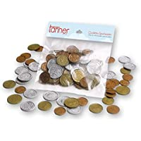 Chr. Tanner 260157 2 Beutel Münzgeld Euro für Kaufladen