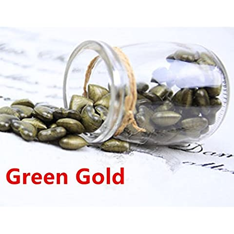 mdlg Vintage 90pcs green-gold a forma di