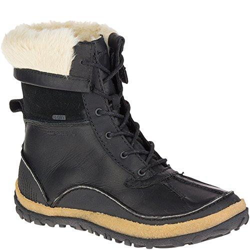 Merrell Tremblant Mid Polar Waterproof, Chaussures de Randonnée Hautes Femme Noir (Black)