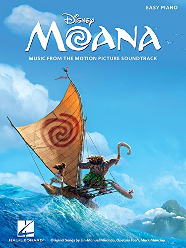 Moana: Music From The Motion Picture Soundtrack (Easy Piano): Songbook für Klavier (Motion Picture Books)