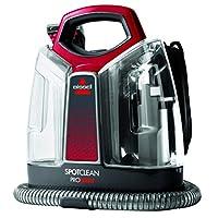 BISSELL 36988 SpotClean ProHeat Leke Temizleme Cihazı, 330, Titanyum ve Kırmızı