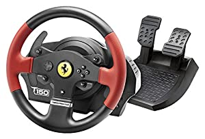 Thrustmaster Ferrari Force T150 FEEBACK 1080 ° with Force Feedback Steering Wheel – For PS4, PS3 and PC Compatible with Sebastien Loeb Evo from Thrustmaster