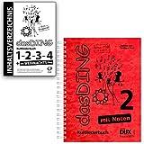 Das DING Band 2 mit Noten + Original Inhaltsverzeichnis - Bände:1-2 - 3-4 - Das Weihnachts-Ding - Verlag Edition Dux D7777 9783868491852