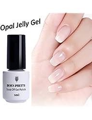 Born Pretty 5ml Nail Art Opal Jelly Gel Polish White UV LED Soak Off Manicure Gel Lacquer Varnish