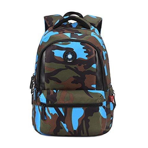 UEK Cartable à Dos Enfant Camouflage Primaire Sac à Dos Scolaire Garçon Collège 31*14*44CM