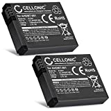 CELLONIC 2X Batterie Premium Compatible avec GoPro HD Hero 2, HD Hero, Hero (1100mAh)...
