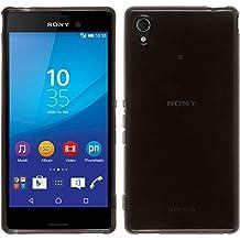 PhoneNatic Case - Funda para Sony Xperia M4 Aqua, color negro