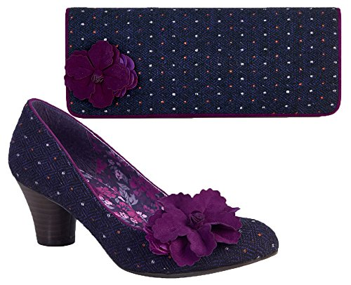 Ruby Shoo , Mary Janes pour femme Violet