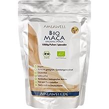 Amlawell Bio-Maca-Pulver/1000g/BIO - DE-ÖKO-039 (1000g)