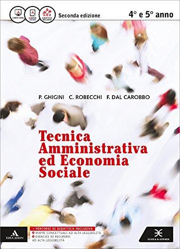 Tecnica amministrativa ed economia sociale. Vol. unico. Per gli Ist. professionali. Con e-book. Con espansione online