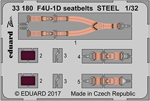 Eduard Accessories 3318030502000F4u-1d Seat V6D310Z Steel For Tamiya