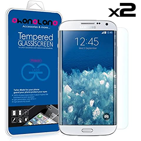 PACK 2 UNIDS - 2 x Film protector pantalla de cristal templado Premium para Samsung Galaxy Note 3