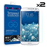 PACK 2 Protector pantalla de cristal templado Premium para Samsung Galaxy S5