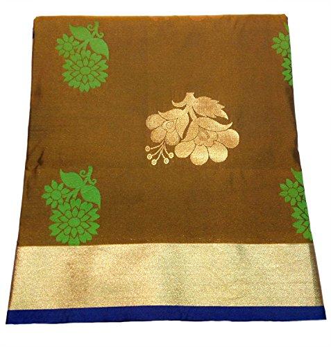 Pure Silk Uppada Pattu Bridal Pattu Sarees with Rich Zari Border Border...