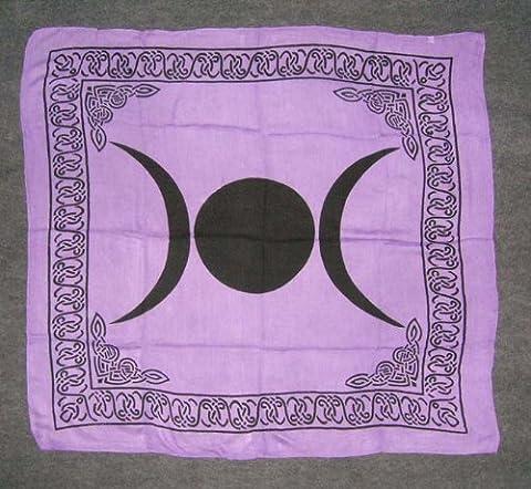 Triple Moon Goddess Altar Tarot
