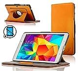 Forefront Cases® Samsung Galaxy Tab 4 10.1 SM-T530 Smart Case Cover Custodia Caso Girevole in Pelle - Protezione dispositivo completa e funzione Smart Auto Sleep Wake + STILO E PROTEGGI SCHERMO