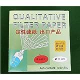 Analyse qualitative Filtre papier/Papier filting 150mm, 30–50& # x3bc; M, 100/pack